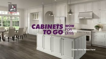 Cabinets To Go Buy More, Save More Sale TV Spot, 'Your Next Wow: Special Financing'