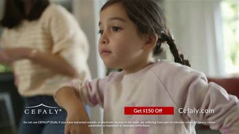 CEFALY DUAL TV Spot, 'Life for Migraine Sufferers: $150 Off'