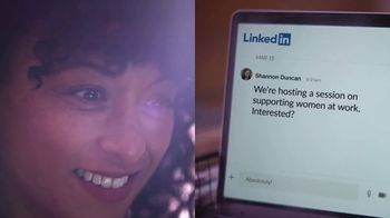 LinkedIn TV Spot, 'Let's Step Forward: Janice Building Community' Song by Hanz Zimmer - Thumbnail 4
