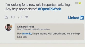 LinkedIn TV Spot, 'Antonio's Story' Featuring Emmanuel Acho