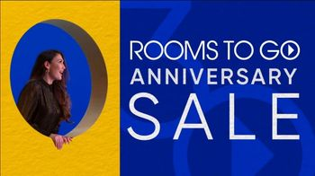 Rooms to Go 30th Anniversary Sale TV Spot, 'Stylish East Side Four Piece Living Room Set' Song by Junior Senior - Thumbnail 3