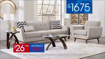 Rooms to Go 30th Anniversary Sale TV Spot, 'Stylish East Side Four Piece Living Room Set' Song by Junior Senior - Thumbnail 7
