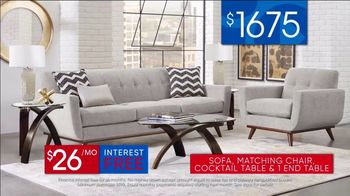 Rooms to Go 30th Anniversary Sale TV Spot, 'Stylish East Side Four Piece Living Room Set' Song by Junior Senior - Thumbnail 9