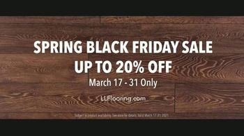 LL Flooring Spring Black Friday Sale TV Spot, 'Living Rooms: Up to 20% Off' Song by Electric Banana - Thumbnail 9