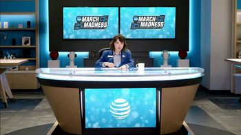 AT&T Wireless TV Spot, 'Lily Uncomplicates: Watching the Tourney at Work' - Thumbnail 3