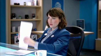AT&T Wireless TV Spot, 'Lily Uncomplicates: Watching the Tourney at Work' - Thumbnail 4