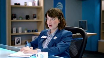 AT&T Wireless TV Spot, 'Lily Uncomplicates: Watching the Tourney at Work' - Thumbnail 5