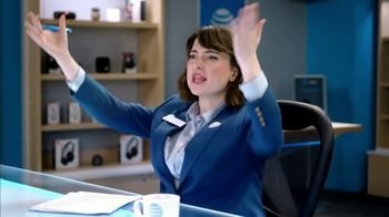 AT&T Wireless TV Spot, 'Lily Uncomplicates: Watching the Tourney at Work' - Thumbnail 6