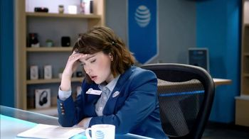 AT&T Wireless TV Spot, 'Lily Uncomplicates: Watching the Tourney at Work' - Thumbnail 7