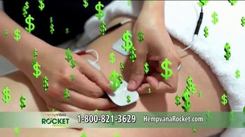 Hempvana Rocket TV Spot, 'The Wireless Electric Stimulation Pain Relief Pen' - Thumbnail 7