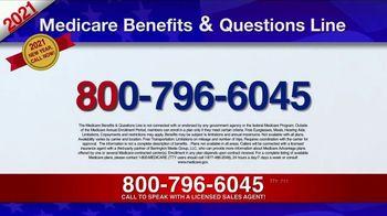 Medicare Benefits & Questions Line TV Spot, '2021 Medicare Benefits: Millions of Americans' - Thumbnail 9