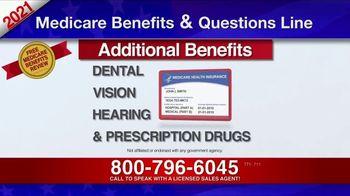 Medicare Benefits & Questions Line TV Spot, '2021 Medicare Benefits: Millions of Americans' - Thumbnail 4