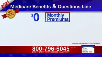 Medicare Benefits & Questions Line TV Spot, '2021 Medicare Benefits: Millions of Americans' - Thumbnail 7