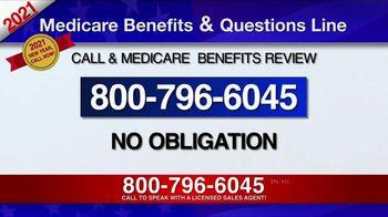 Medicare Benefits & Questions Line TV Spot, '2021 Medicare Benefits: Millions of Americans' - Thumbnail 8