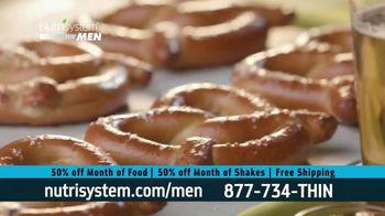 Nutrisystem for Men 50/50 Deal TV Spot, 'Real Food: 50% Off Food & Shakes' - Thumbnail 6