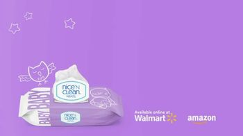 Nice 'N Clean Sensitive Skin Baby Wipes TV Spot, 'Healthy Snuggling: Sensitive Skin' - Thumbnail 1