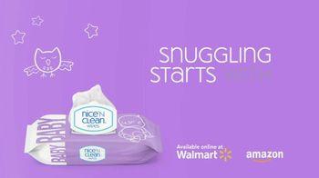 Nice 'N Clean Sensitive Skin Baby Wipes TV Spot, 'Healthy Snuggling: Sensitive Skin' - Thumbnail 2