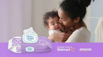 Nice 'N Clean Sensitive Skin Baby Wipes TV Spot, 'Healthy Snuggling: Sensitive Skin' - Thumbnail 3