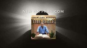 Pray, Inc. TV Spot, 'Charlton Heston Presents: The Bible'
