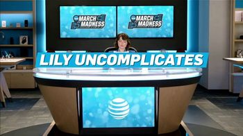 AT&T Wireless TV Spot, 'Lily Uncomplicates: Airballs' - Thumbnail 3
