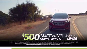 Ford Matching Down Payment Sales Event TV Spot, 'Commitment: Edge' [T2] - Thumbnail 3