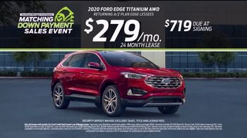 Ford Matching Down Payment Sales Event TV Spot, 'Commitment: Edge' [T2] - Thumbnail 7