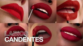 Maybelline New York SuperStay Matte Ink Spiced Edition TV Spot, 'Intensificar' [Spanish]