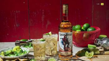 Captain Morgan Original Spiced Rum TV Spot, 'Ginger Ale and Lime' - Thumbnail 1
