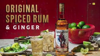 Captain Morgan Original Spiced Rum TV Spot, 'Ginger Ale and Lime' - Thumbnail 2