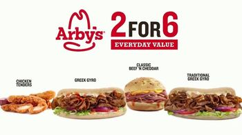 Arby's 2 for $6 Everyday Value TV Spot, 'Gyro Hero' Song by YOGI