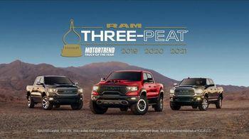 Ram Trucks Truck Month TV Spot, 'Three-Time Champion' [T2] - Thumbnail 5