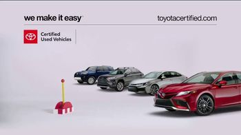 Toyota Certified Used Vehicles TV Spot, 'Check This Out' [T2] - Thumbnail 1