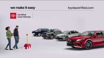 Toyota Certified Used Vehicles TV Spot, 'Check This Out' [T2] - Thumbnail 2
