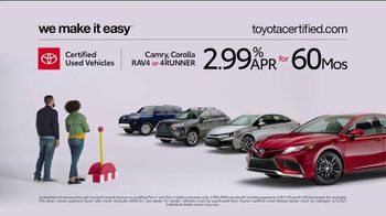 Toyota Certified Used Vehicles TV Spot, 'Check This Out' [T2] - Thumbnail 7