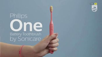 Sonicare Philips One TV Spot, 'For a Brighter Smile' - Thumbnail 1