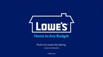 Lowe's Springfest TV Spot, 'Spring Is the Season of Possibilities' - Thumbnail 9