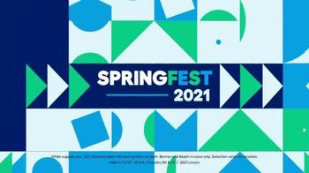 Lowe's Springfest TV Spot, 'Experience the Deals: Yard' - Thumbnail 9
