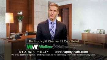 Walker & Walker Attorney Network TV Spot, 'Financial Setbacks' - Thumbnail 1
