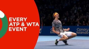 Tennis Channel Plus TV Spot, 'Every ATP and WTA Event: 20% Off' - 3 commercial airings