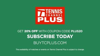 Tennis Channel Plus TV Spot, 'Every ATP and WTA Event: 20% Off' - Thumbnail 7