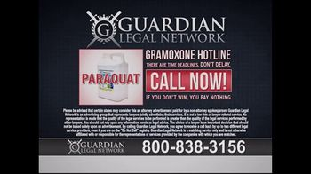 Guardian Legal Network TV Spot, 'Gramoxone and Paraquat Lawsuit' - Thumbnail 6