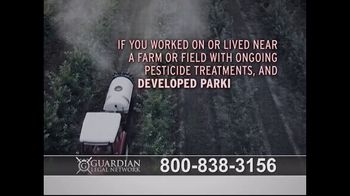 Guardian Legal Network TV Spot, 'Gramoxone and Paraquat Lawsuit' - Thumbnail 3