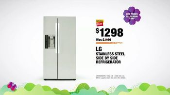 The Home Depot Spring Savings Event TV Spot, 'LG Stainless Steel Refrigerator' - Thumbnail 9