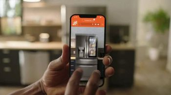 The Home Depot Spring Savings Event TV Spot, 'LG Stainless Steel Refrigerator' - Thumbnail 3