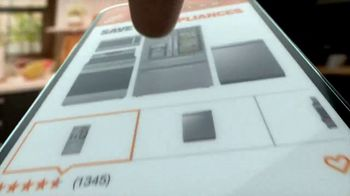 The Home Depot Spring Savings Event TV Spot, 'LG Stainless Steel Refrigerator' - Thumbnail 5