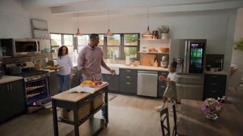 The Home Depot Spring Savings Event TV Spot, 'LG Stainless Steel Refrigerator' - Thumbnail 6