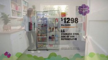 The Home Depot Spring Savings Event TV Spot, 'LG Stainless Steel Refrigerator' - Thumbnail 8