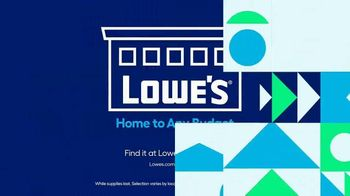 Lowe's Springfest TV Spot, 'Experience the Deals' - Thumbnail 9