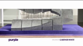 Purple TV Spot, 'Exclusively at Gardner-White: $10 a Month'