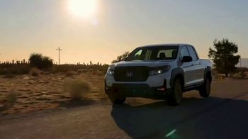 Honda Ridgeline TV Spot, 'In Focus: Rugged Capabilities' [T1] - Thumbnail 2